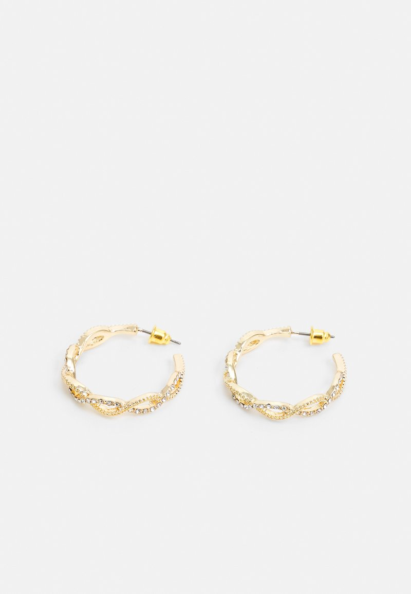 LIARS & LOVERS - WIN PAVE PLAITED - Earrings - gold-coloured