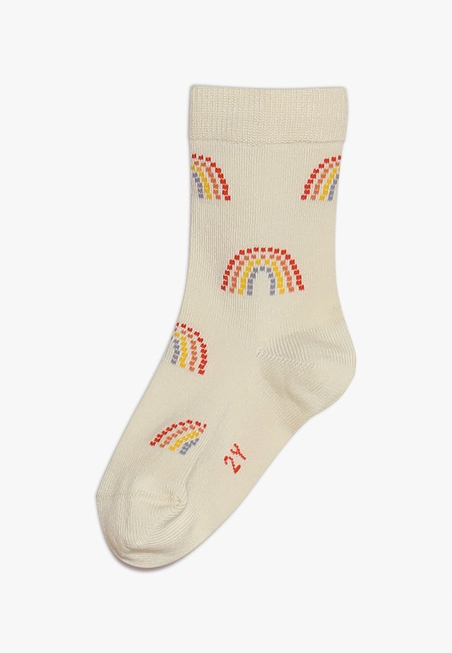 RAINBOW MEDIUM SOCKS - Sukat - cream