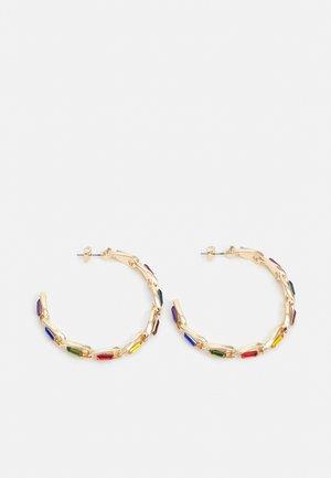 PCPEPITA HOOP EARRINGS - Earrings - gold-coloured/multi