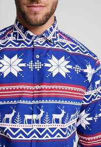 OppoSuits - THE RUDOLPH TAILORED FIT - Shirt - blue - 4