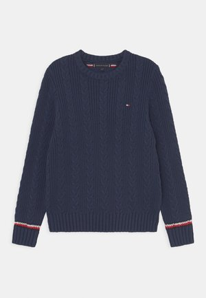 ESSENTIAL CABLE - Maglione - twilight navy