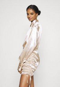Gina Tricot - SIDNEY SHIRT DRESS - Cocktail dress / Party dress - sandshell - 4