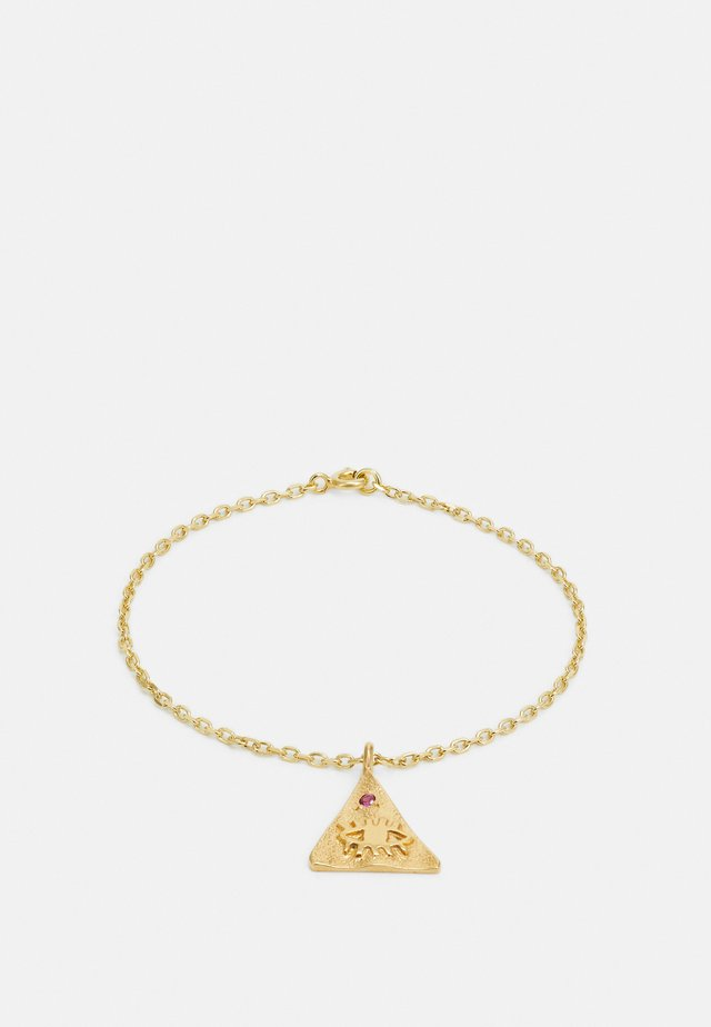 KRESSIDA PYRAMIS BRACELET - Rannekoru - gold-coloured/multi