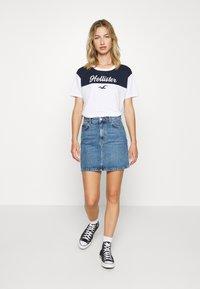 Hollister Co. - SPORTY - Print T-shirt - navy - 1