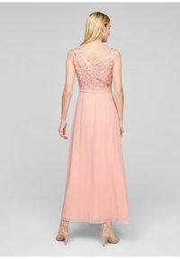 s.Oliver BLACK LABEL - GEBLOEMDE KANT - Maxi dress - spring rose - 2
