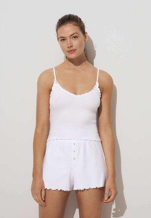 CURLED EDGE - Pantaloni del pigiama - white