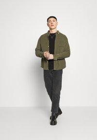Redefined Rebel - MICHAEL TEE - Long sleeved top - black - 1