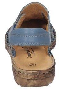 Comfortabel - Ankle strap ballet pumps - blau - 2