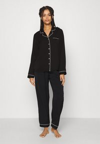Anna Field - AMANDA LONG PJ SET - Pyjama - black - 0