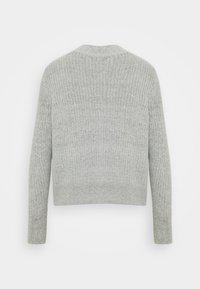 b.young - NORA  - Cardigan - mid grey melange - 1
