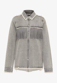 myMo ROCKS - Button-down blouse - grau - 4