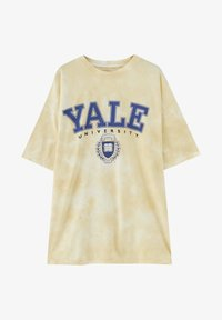 PULL&BEAR - HARDVARD UNIVERSITY - T-shirt con stampa - yellow - 4