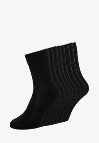 s.Oliver - ONLINE ESSENTIAL SOCKS  UNISEX 8 PACK - Socks - black - 0