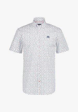 Shirt - brick/cobalt