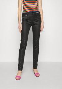 Morgan - PBIKE - Jeans Skinny Fit - noir - 0