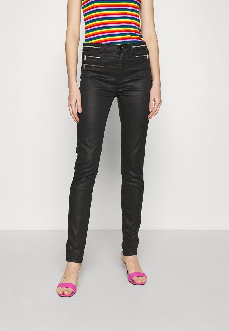 Morgan - PBIKE - Jeans Skinny Fit - noir