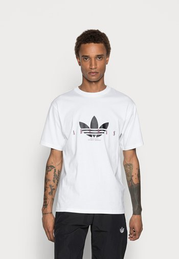 TREFOIL SCRIPT - T-shirt con stampa - white