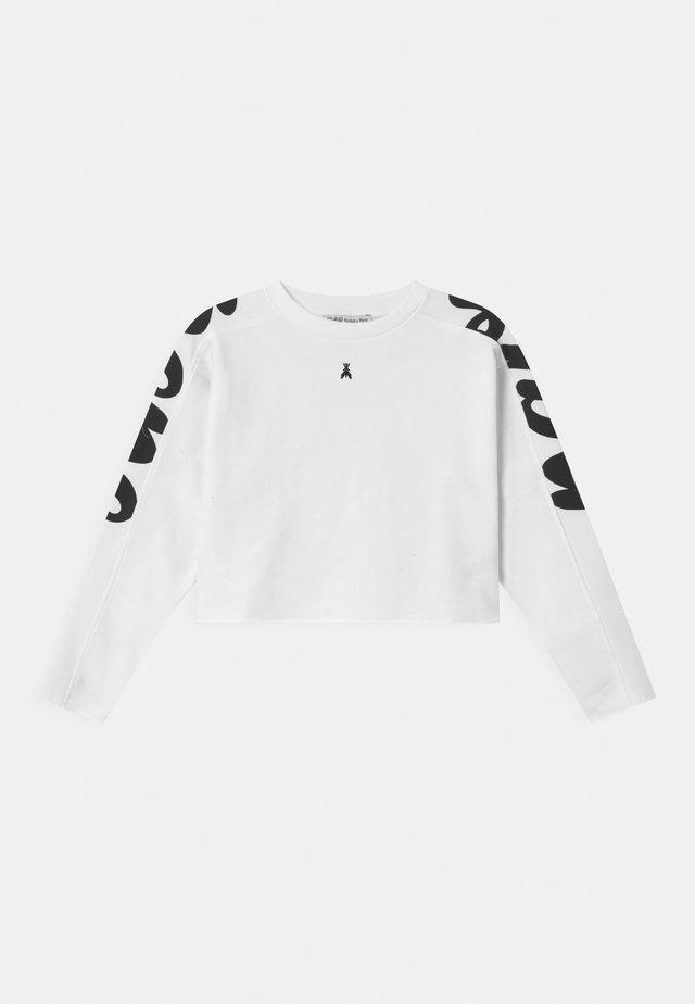LOGO DIETRO - Sweatshirt - white