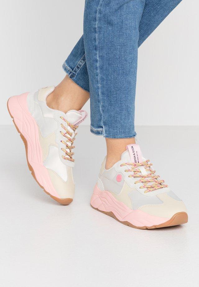 CELEST  - Sneaker low - bone/beige