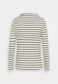 Esprit - STRIPE TEE - Long sleeved top - off white - 1