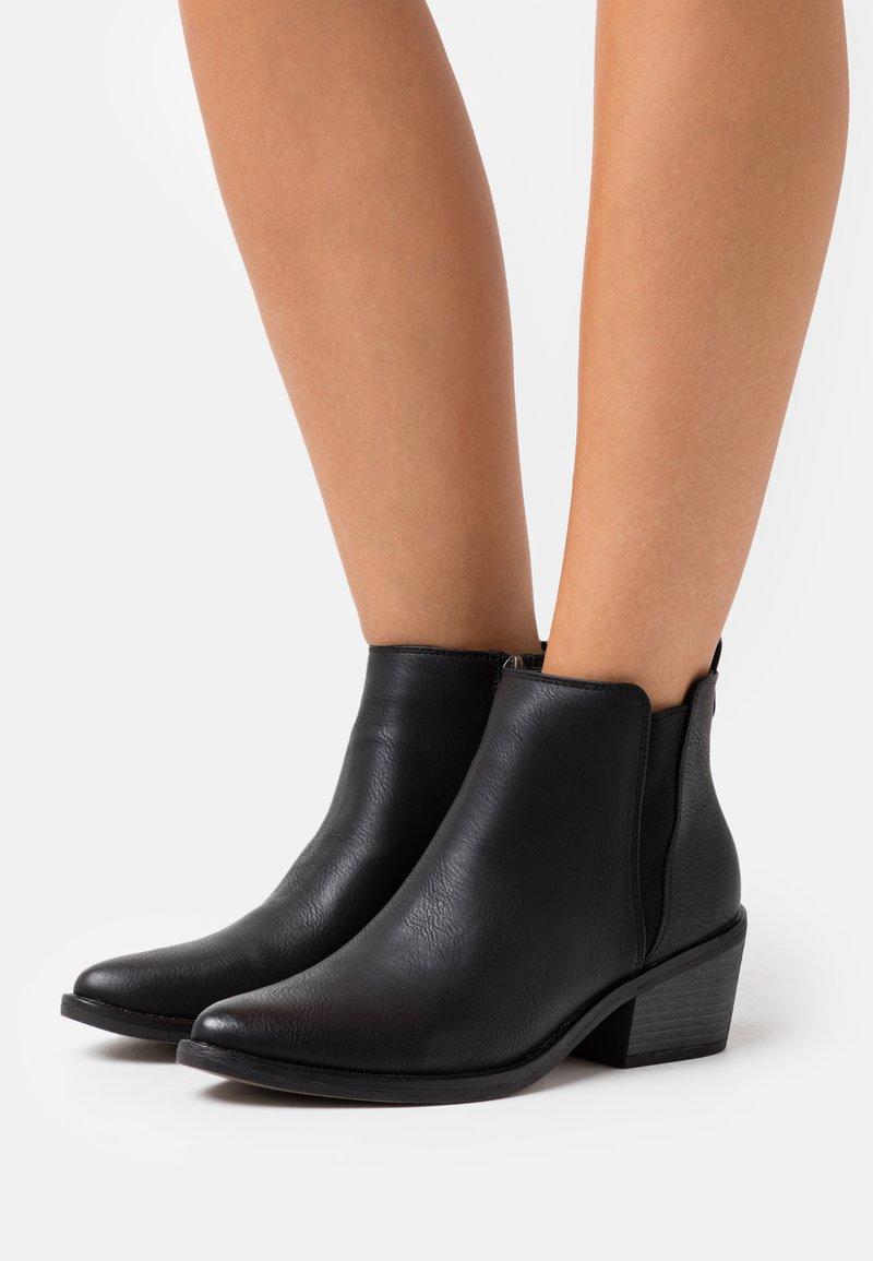 mtng - Kotníková obuv - black