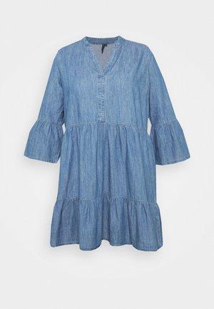 CARKIKKAMARAKESH LIFE TUNIC DRESS - Kjole - medium blue denim