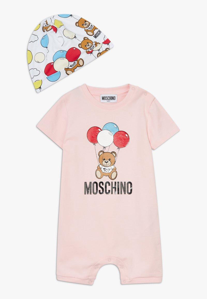 MOSCHINO - ROMPER HAT GIFT SET - Beanie - sugar rose