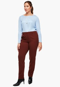 Triangle - Trousers - brown - 1