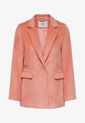 Short coat - terra cotta