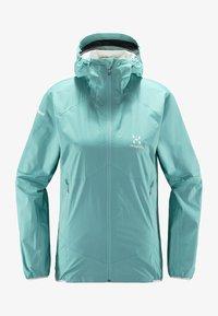 Haglöfs - L.I.M PROOF MULTI JACKET - Waterproof jacket - glacier green - 5