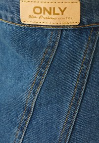 ONLY - ONLRUBY LIFE PANEL - Mini skirt - medium blue denim - 2