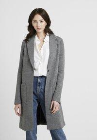 ONLY Tall - ONLASTRID LINDA COAT  - Zimní kabát - medium grey melange - 0