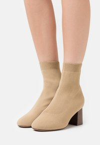 Even&Odd Wide Fit - Classic ankle boots - beige - 0