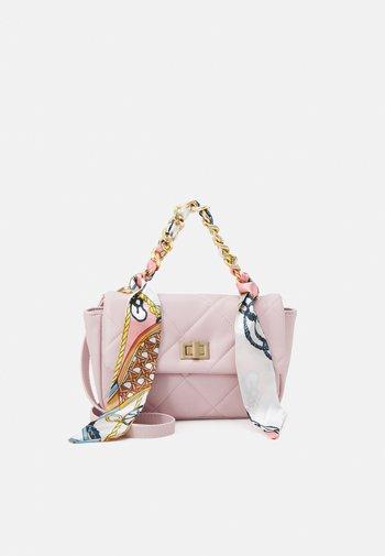 PCFILIPPA KEY - Handbag - cream pink multi