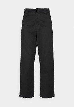 MASTER PANT - Trousers - black