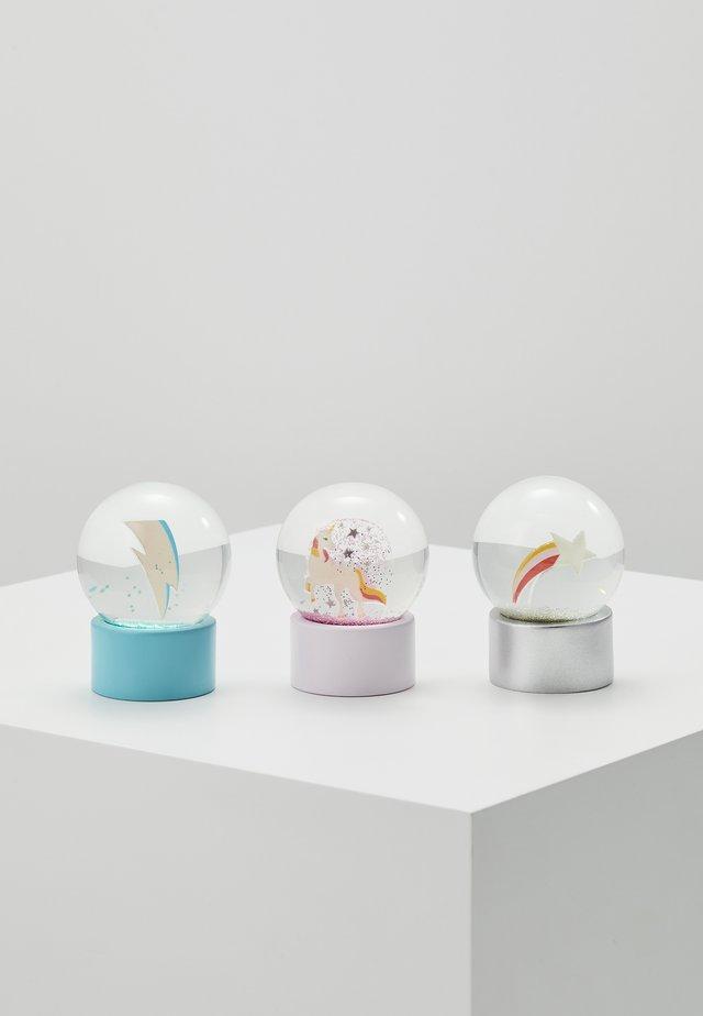MINI GLOBES 3 PACK - Decoration - multicoloured