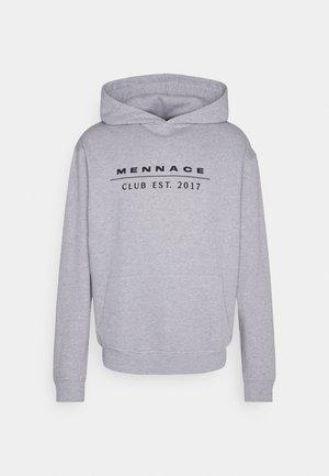 CLUB TENNIS COURT HOODIE UNISEX - Sweater - grey marl