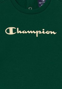 Champion - BASIC LOGO TODDLER CREWNECK SET UNISEX - Tracksuit - dark green