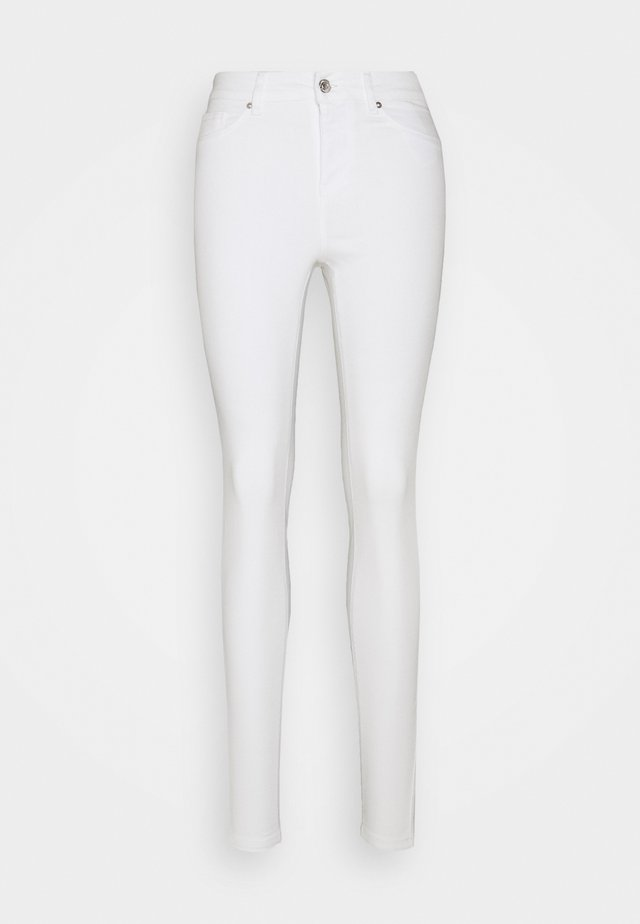 VMHOT SEVEN MR PUSH PANT - Jeans Skinny - bright white
