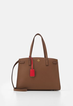 WALKER TRIPLE COMPARTMENT SATCHEL - Kabelka - moose