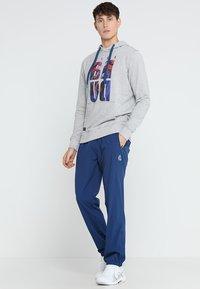 BIDI BADU - FLINN TECH PANT - Teplákové kalhoty - dark blue - 1