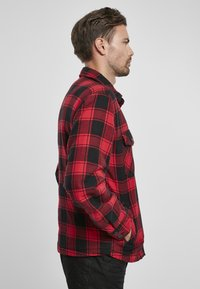 Brandit - Denim jacket - red/black - 4