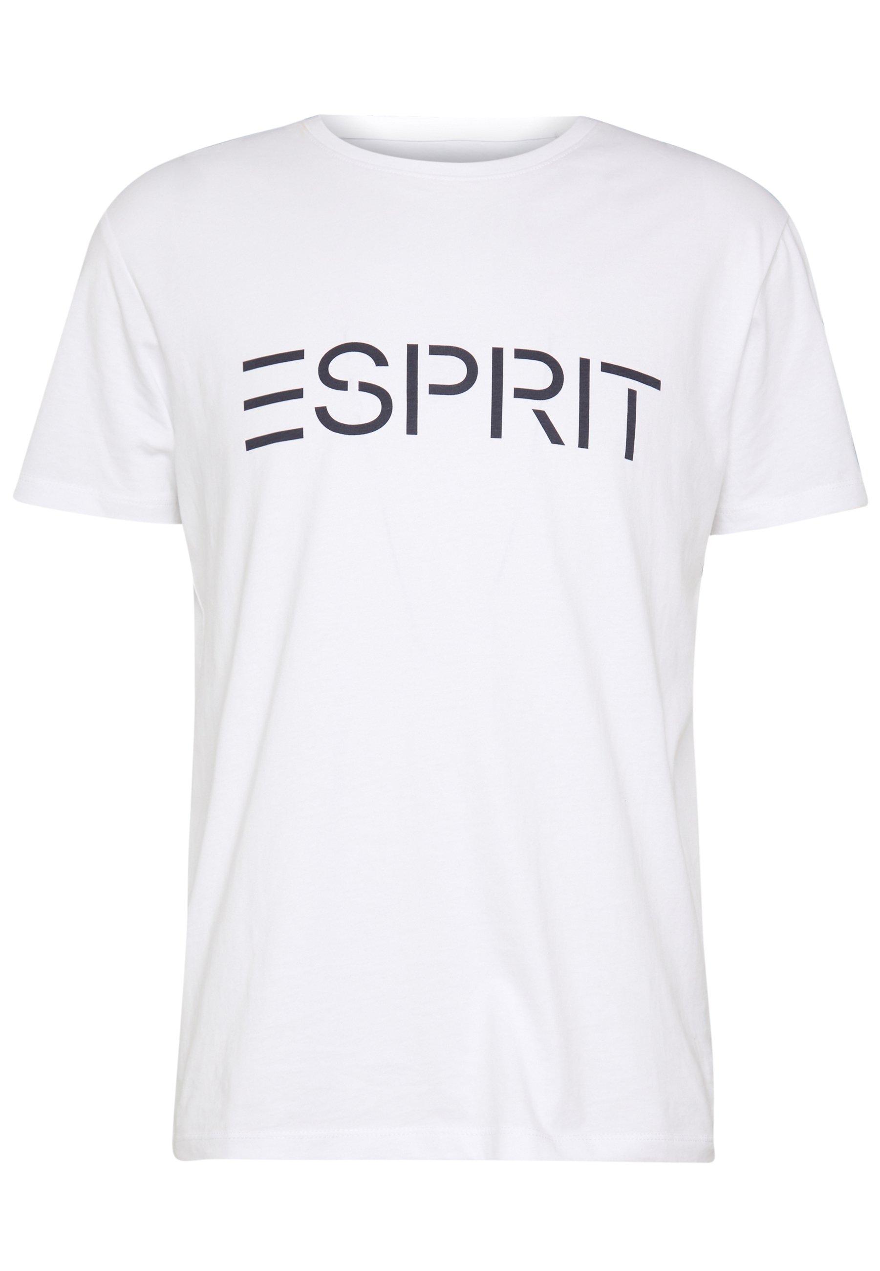 Esprit Logo - T-shirt Print Khaki Green