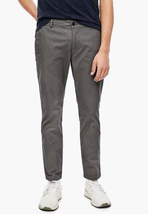 Chinos - light grey aop