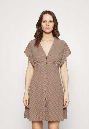 VALERIE DRESS - Day dress - light brown