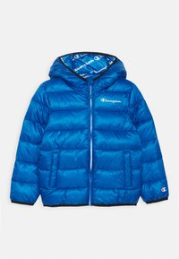 Champion - LEGACY OUTDOOR HOODED JACKET UNISEX - Zimní bunda - royal blue - 0