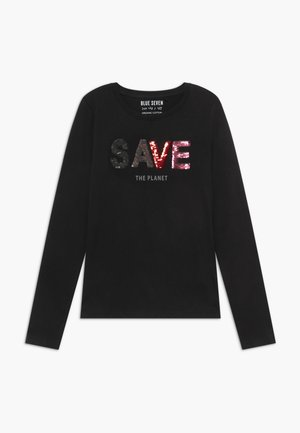 TEENS GIRLS HAVE FUN FLIP SEQUIN - Langærmede T-shirts - schwarz