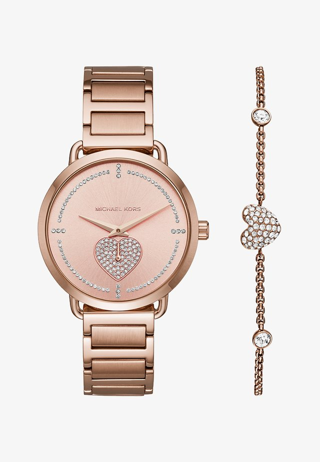 PORTIA SET - Watch - rose gold-coloured