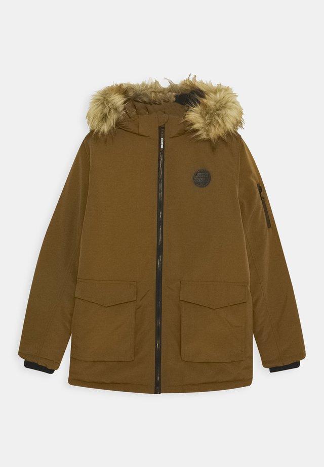 TEENAGER - Zimní kabát - dark camel