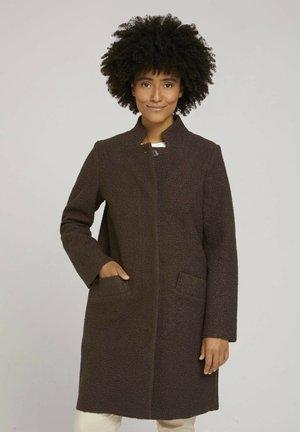 Short coat - java dark brown